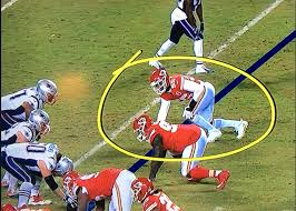 Dee Ford lined up offside on what would have been the game clinching play for the Chiefs.